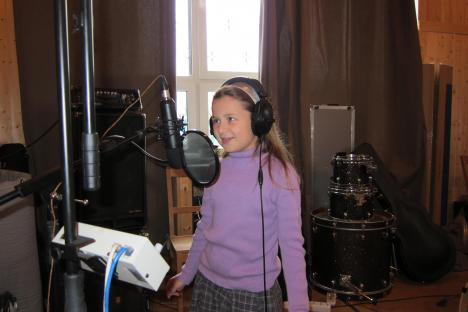 Запись на студии и Творческий вечер Г.Шайдуловой в Доме Актера